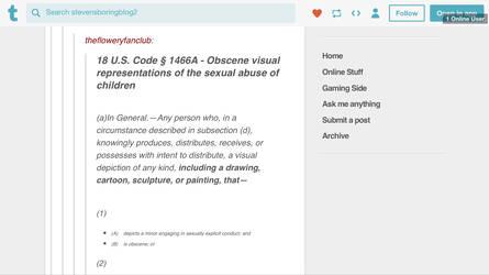 Anti child pornographers law (US VERSION) by haruau