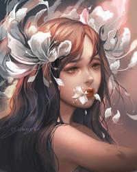 Hanahaki Disease by Jyundee