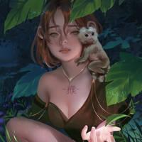 Chinese Zodiac: Monkey by Jyundee