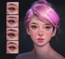 Eyebrows tutorial by Jyundee