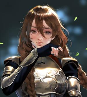 [commission] Gerta Alternate Version