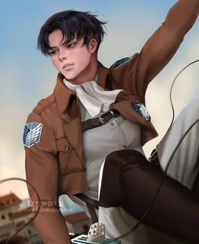Levi Ackerman: Soldier