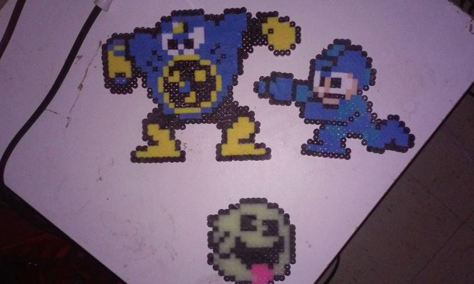 Megaman+Boo+Airman by ShadowFox420