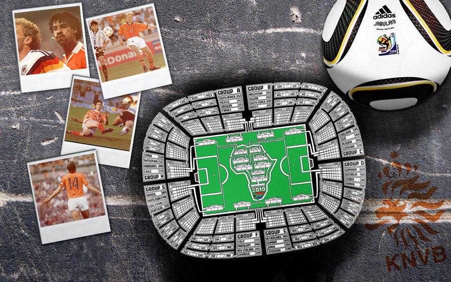 Oranje WK2010 Wallpaper by DeGraafCreativity