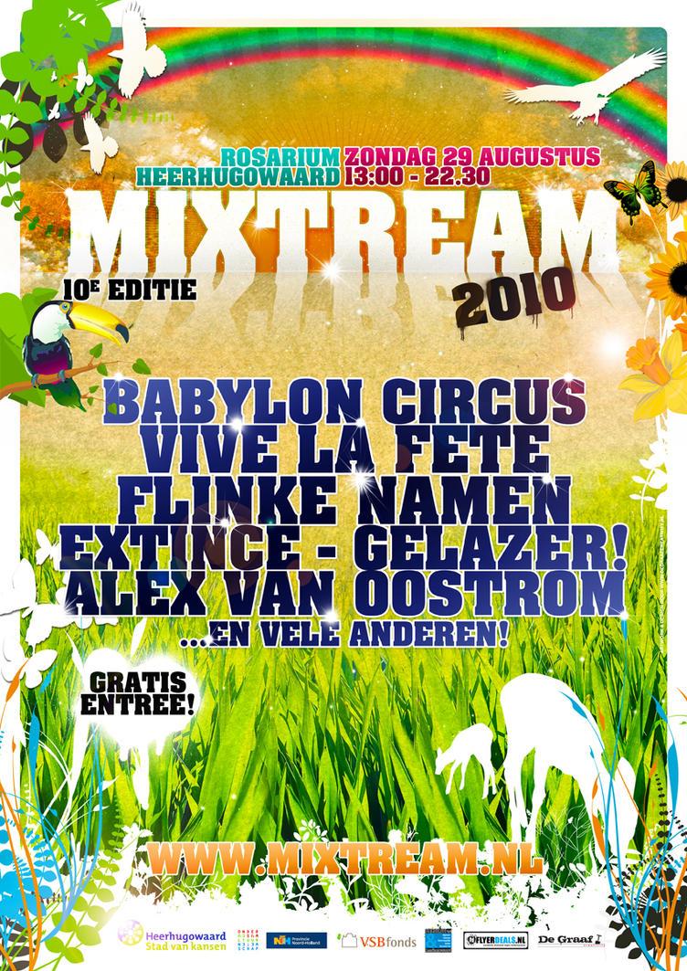 Mixtream Festival by DeGraafCreativity
