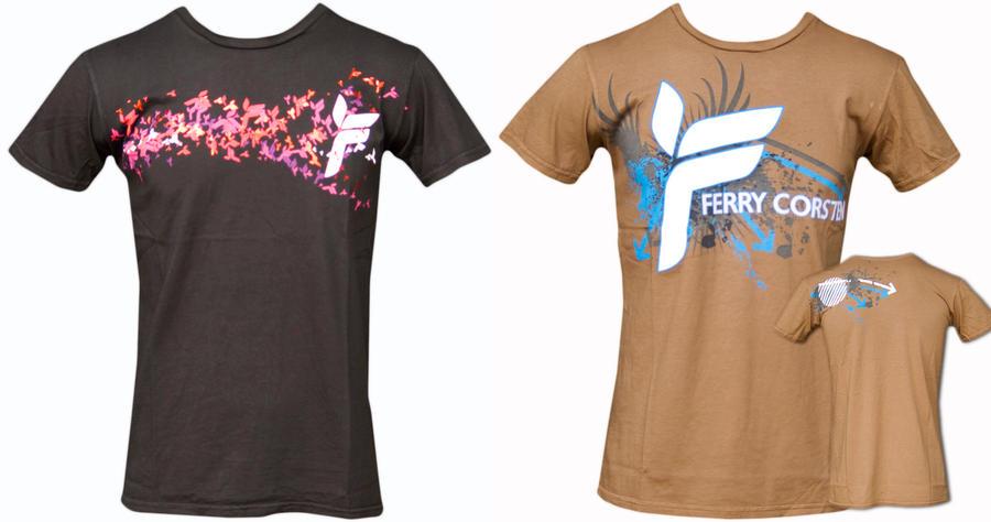Ferry Corsten T Shirts by DeGraafCreativity