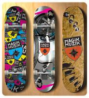 SkateBoards by DeGraafCreativity