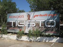 Billboard in Ibiza by DeGraafCreativity