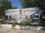 Billboard in Ibiza