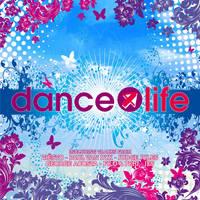 Dance 4 Life CD Cover by DeGraafCreativity