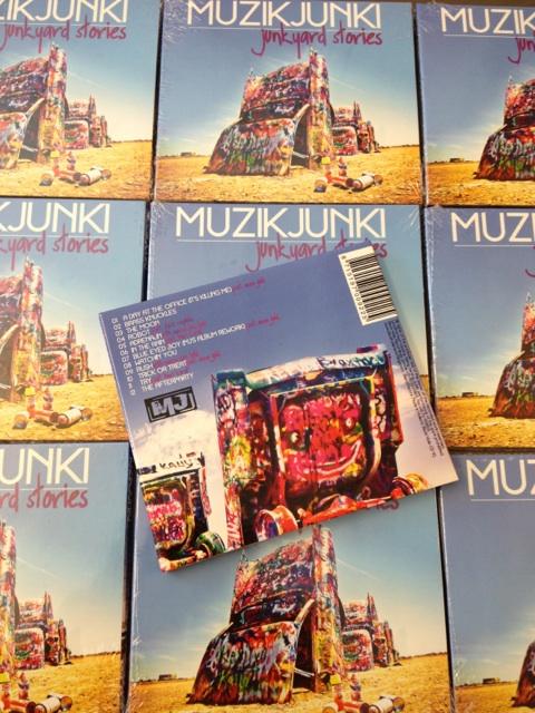 Muzikjunki - Junkyard Stories by DeGraafCreativity
