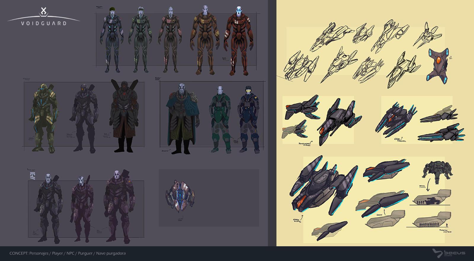 Fleet Personnel - Concept Art