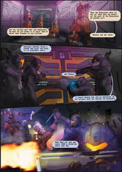 Gerves Delau Assault - Comic