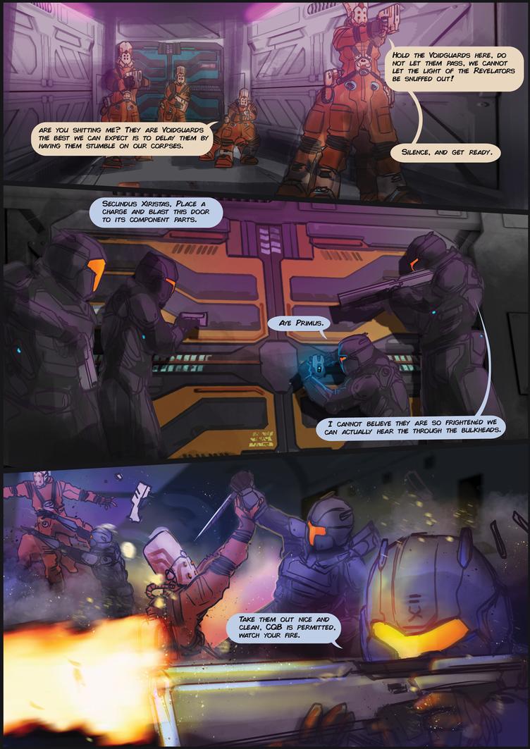 Gerves Delau Assault - Comic by BacusStudios