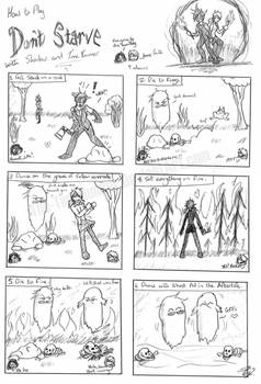 How to Play 'Don't Starve' (Gift Comic)