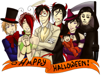Those Immortals, Treat or Trick (Contest Entry) by The-TimeRunner