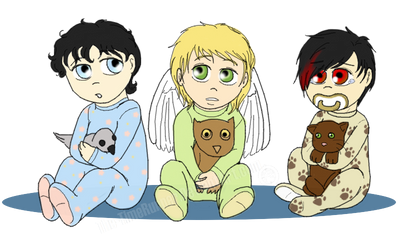 Those Immortals, Babehs! :D by The-TimeRunner