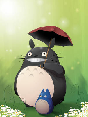 totoro by JAGRASSI