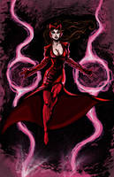 Scarlet Witch Color by amtaylor12