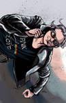 Days of Future Past Quicksilver Pin-up