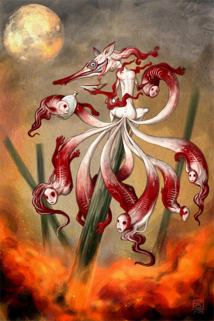 Nine Tails by polawat