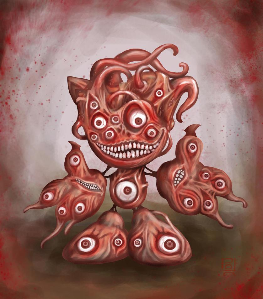 Fella : Eyes of Horror by polawat