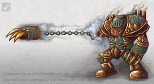 Concept Art: Assault Golem by polawat