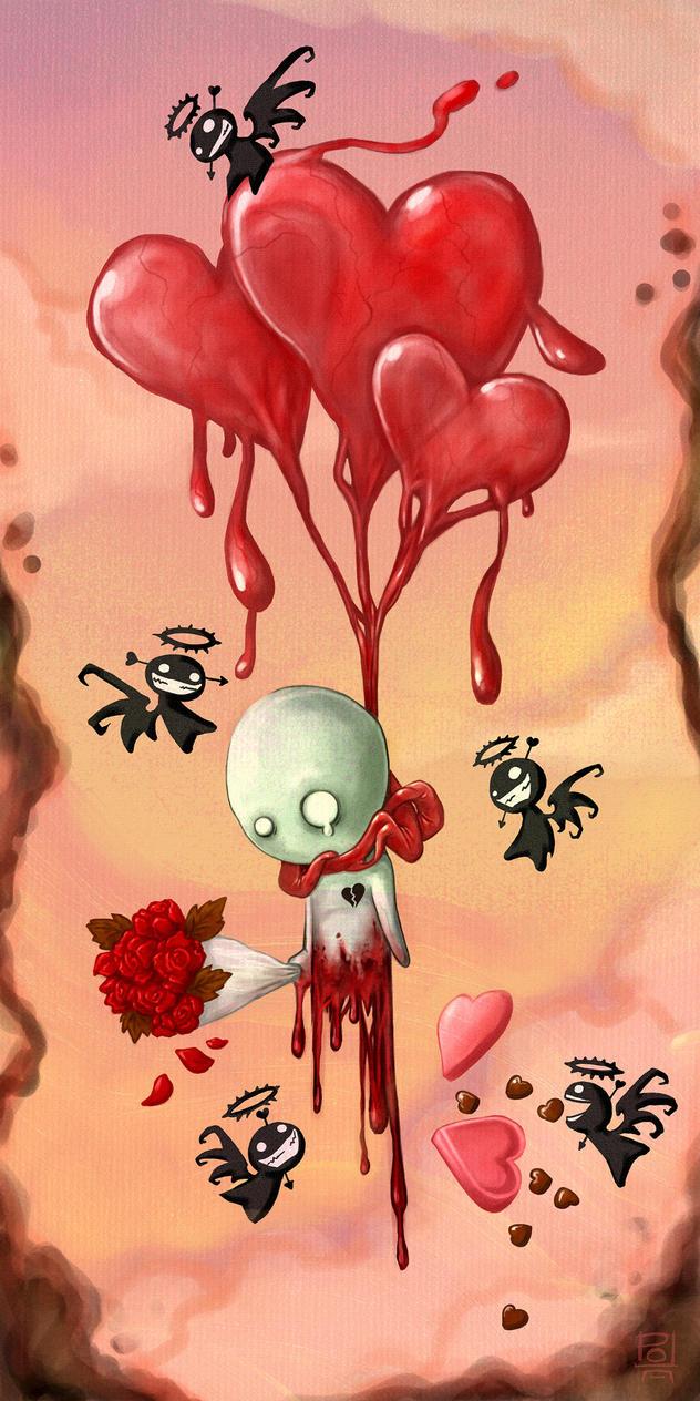 Valentine Balloon by polawat