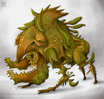 Concept art : Rirtdip Warrior