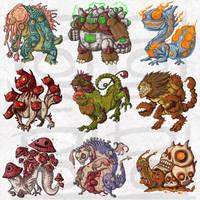 Petsite : Monster1 by polawat