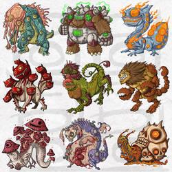 Petsite : Monster1