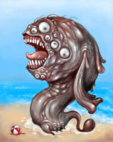 Terror Worm by polawat