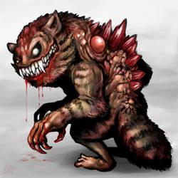 Demon Werecat by polawat