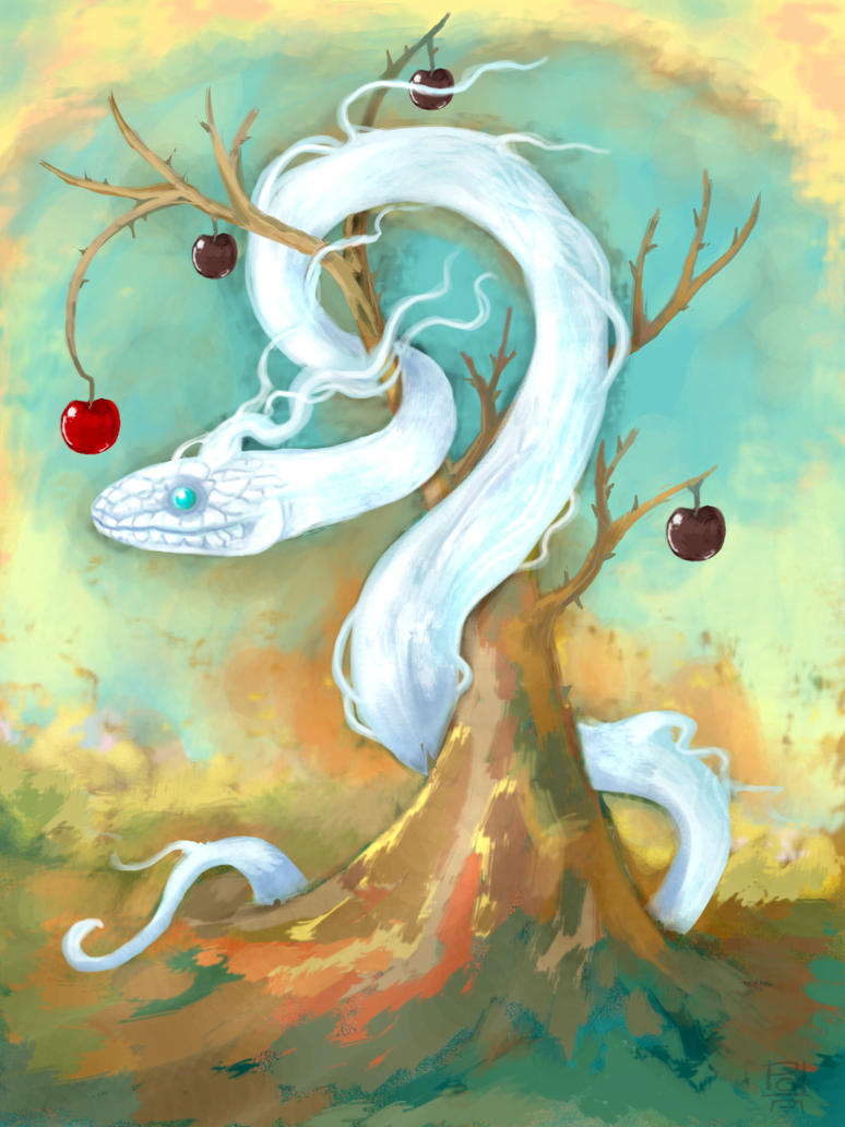 Snake of Eden by polawat