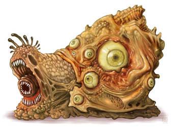 Snail beast by polawat