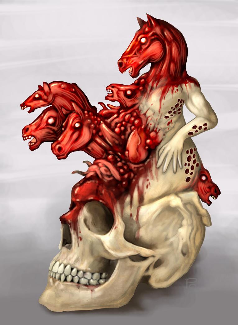 Skull Horse by polawat