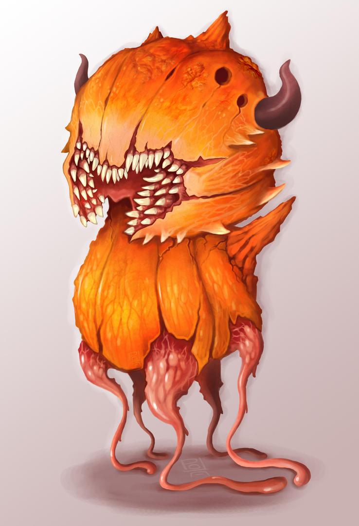 Pumpkin fiend by polawat