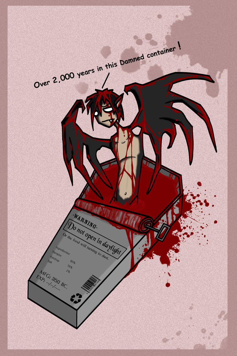 Canned Vampire by polawat