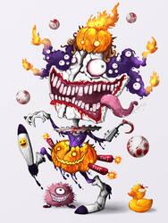 Creepy Clown : Halloween