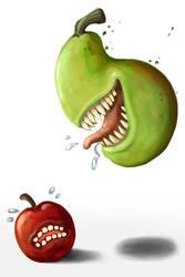Pear Attack!!