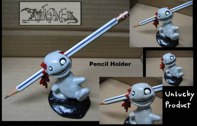 Pencil Holder by polawat