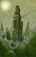 Green Castle by polawat