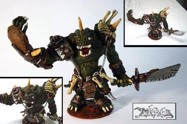 Demonic Orc by polawat