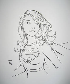 Supergirl - Marcus To by wfbarton