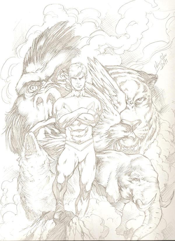 Beast Boy by wfbarton