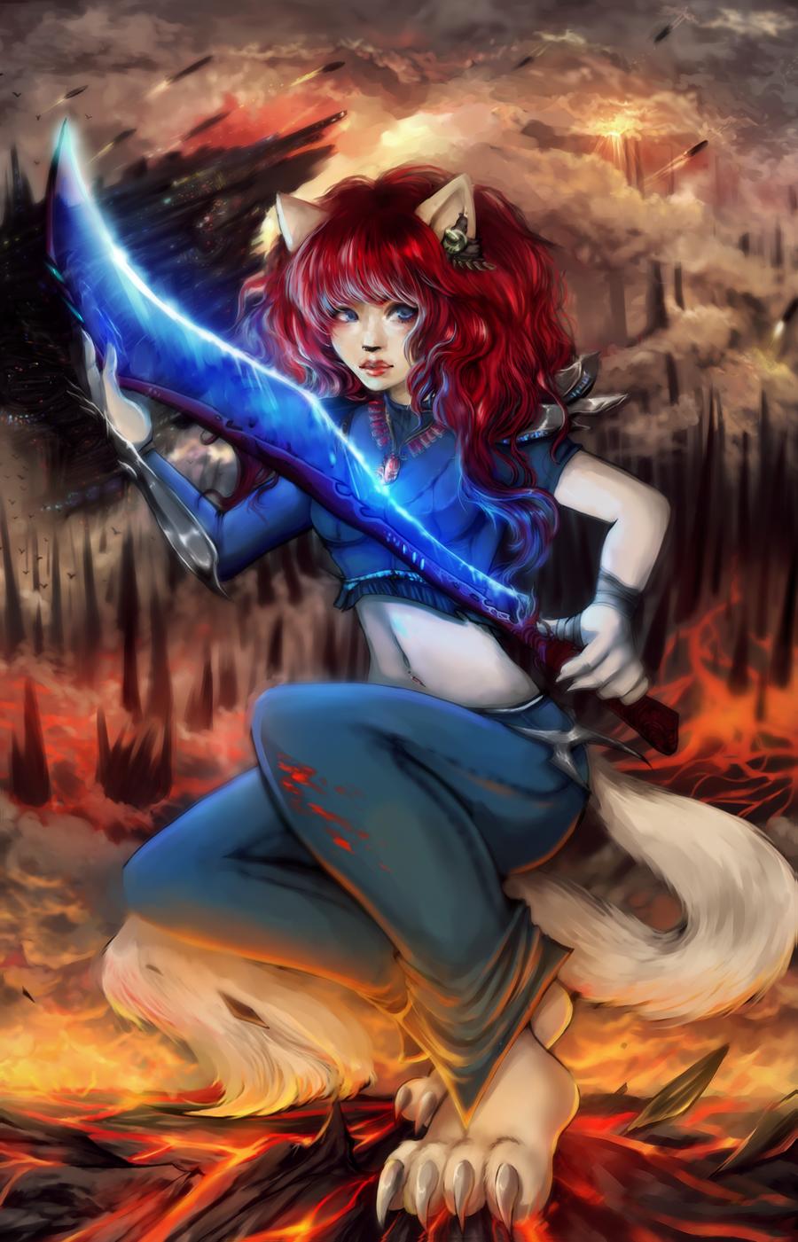 Warrior by IndiCreates