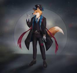 Azael the fox by IndiCreates