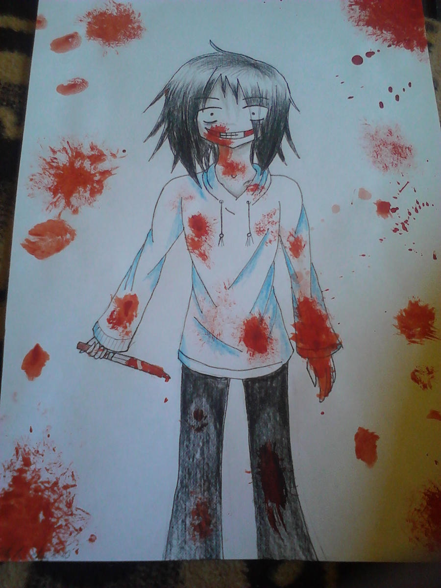 Jeff the killer by Akila-chan1010