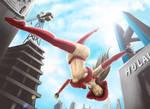 Pepper Accrobatic Jump