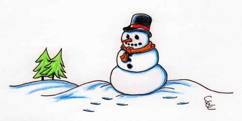 Snowman to Christmas